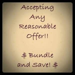 Bundle to Save! Make offers!